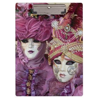 Porte-bloc Costume pourpre de carnaval, Venise