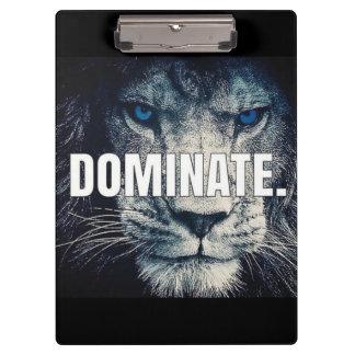 Porte-bloc Dominez - le lion de motivation