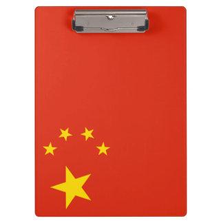 Porte-bloc Drapeau de la Chine