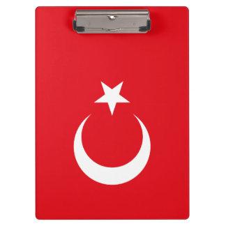 Porte-bloc Drapeau de la Turquie