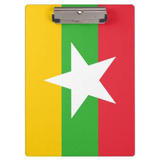 Porte-bloc Drapeau de Myanmar