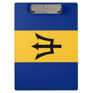 Porte-bloc Drapeau des Barbade