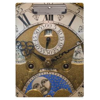 Porte-bloc Fermez-vous d'une vieille horloge, Allemagne
