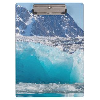 Porte-bloc Glace bleue de glaceir, Norvège