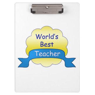 Porte-bloc Le meilleur professeur du monde
