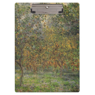 Porte-bloc Lemon Grove dans Bordighera par Claude Monet