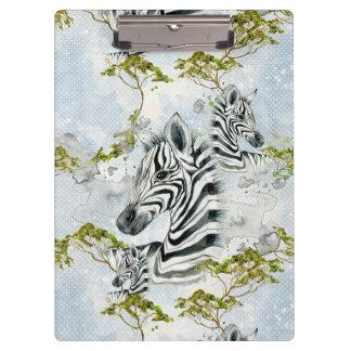 Baby Zebra Africa Savanna Wild Animals black white