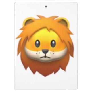Porte-bloc Lion - Emoji