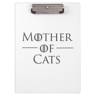 Porte-bloc Mère des chats
