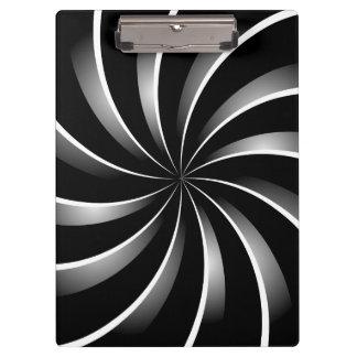 Porte-bloc Motif en spirale
