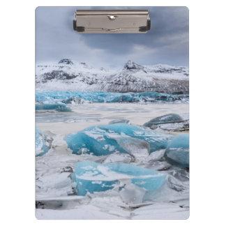 Porte-bloc Paysage de glace de glacier, Islande