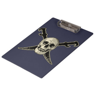 Porte-bloc Pirate (crâne) - porte - bloc