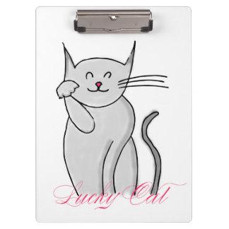 Porte-bloc Porte - bloc chanceux de chat