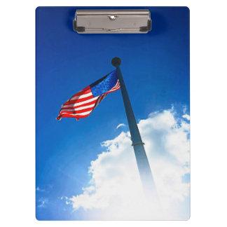 Porte-bloc Porte - bloc de drapeau américain