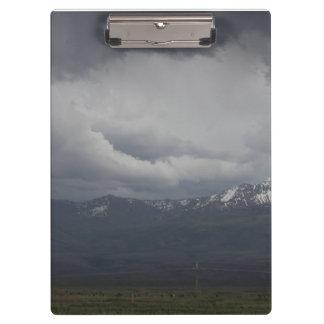 Porte-bloc Porte - bloc orageux de ciel