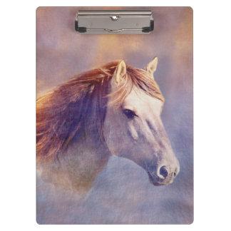 Porte-bloc Portrait de cheval