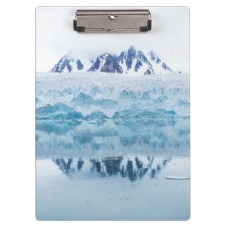 Porte-bloc Réflexions de glacier, Norvège