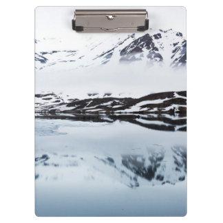 Porte-bloc Réflexions de montagne, Norvège