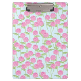 Porte - bloc rose de jardin de dahlia