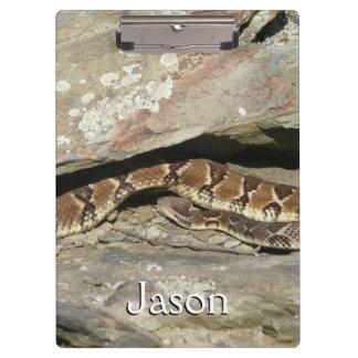 Porte-bloc Serpent à sonnettes au parc national de Shenandoah