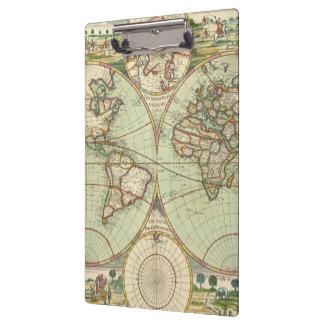 Porte-bloc Un nouveau mapp du monde - atlas