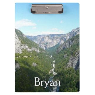 Porte-bloc Vallée de Yosemite en parc national de Yosemite
