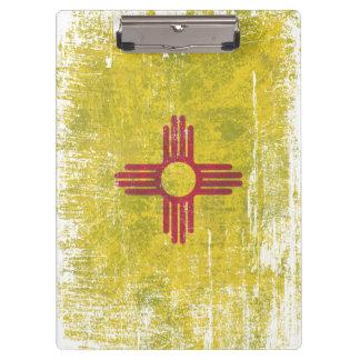 Porte-bloc Vieillissement du drapeau du Nouveau Mexique