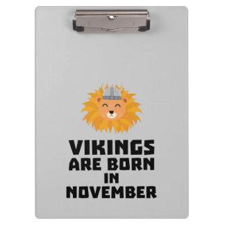 Porte-bloc Vikings sont en novembre Zur82 nés