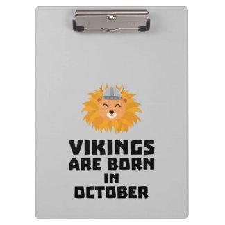 Porte-bloc Vikings sont en octobre Z0v8r nés