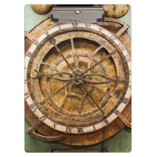 Porte-bloc Visage d'horloge antique, Allemagne