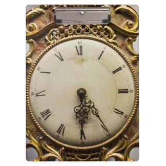 Porte-bloc Visage d'horloge du 19ème siècle, Allemagne