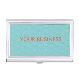 Porte-cartes de carte de visite personnalisé - étui pour cartes de visite