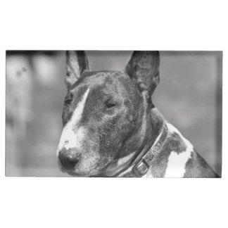 Porte-cartes De Placement Chien de bull-terrier