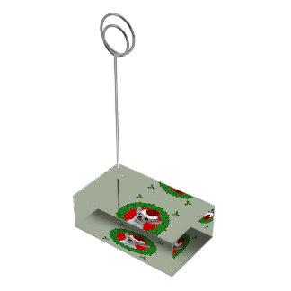 Porte-cartes De Placement Chien de chiwawa de Noël