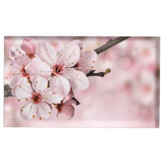 Porte-cartes De Placement Fleurs de cerisier en fleur