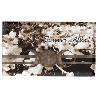 Porte-cartes De Placement Lune sentimentale Handfasting de triple de