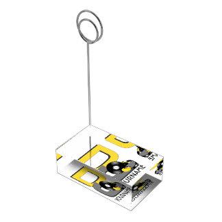 Porte-cartes De Placement Porte-cartes faits sur commande de table de