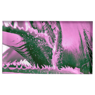 Porte-cartes De Placement Tigresse rose de paume