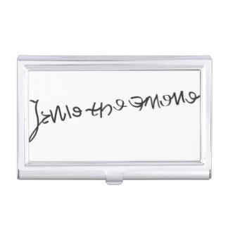 Porte-cartes de signature de Jane Seymour Boîtier Pour Cartes De Visite
