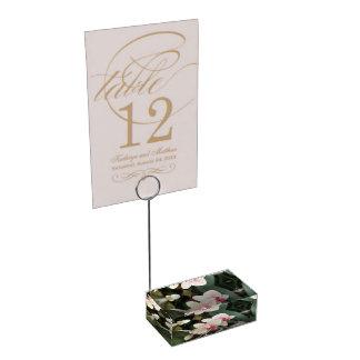 Porte-cartes De Table Fleurs d'orchidée