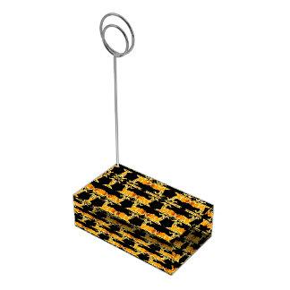 Porte-cartes De Table Porte-cartes décoratif de Tableau de motif de RAM
