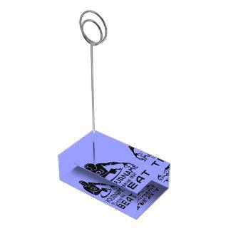 Porte-cartes De Table Porte-cartes faits sur commande de table de