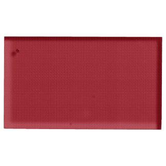 Porte-cartes De Table Simplicité marron
