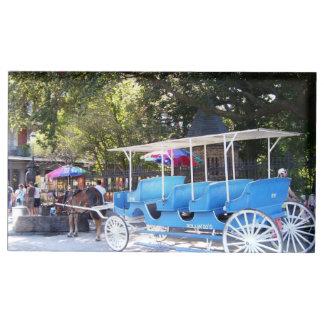 Porte-cartes de Tableau de cheval et de chariot Porte-cartes De Table