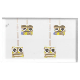 Porte-cartes de Tableau de yo-yo d'Up-Down Porte-cartes De Table