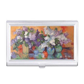 Porte-cartes De Visite De lilas toujours porte-cartes de société