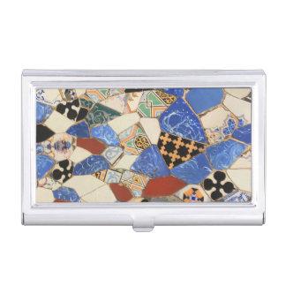 Porte-cartes De Visite Décoration de mosaïque