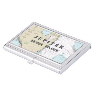 Porte-cartes De Visite Diagramme du sud nautique de longitude de latitude