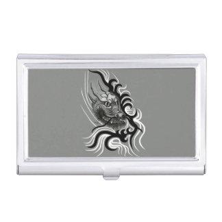 Porte-cartes De Visite Dragon de la Chine dans le style de tatouage