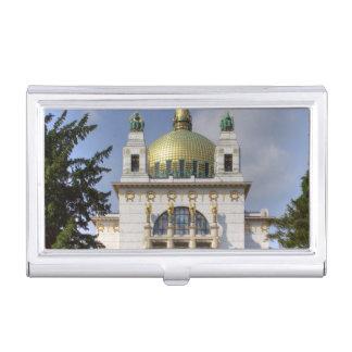 Porte-cartes De Visite Église de St Leopold Vienne Autriche